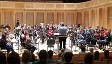 Royal Welsh College of Music and Drama Brass Band open day